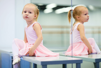 Young Child to Ballet